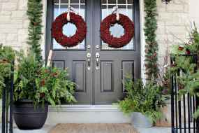 50 beautiful christmas porch decorations ideas and remodel (3)