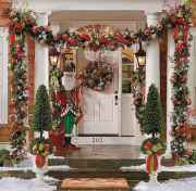 50 beautiful christmas porch decorations ideas and remodel (43)