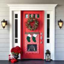 50 beautiful christmas porch decorations ideas and remodel (50)