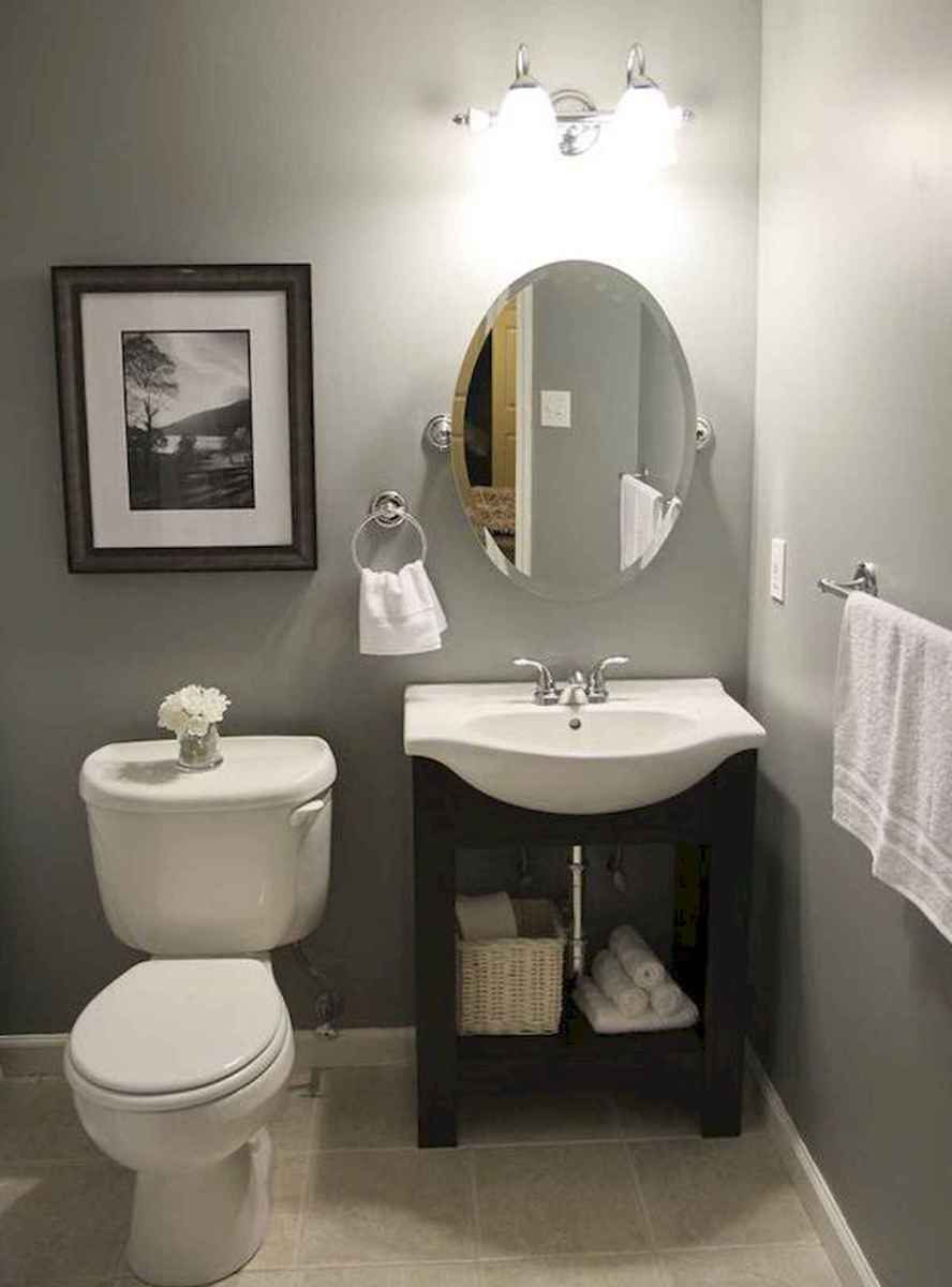 50 small guest bathroom ideas decorations and remodel (23)