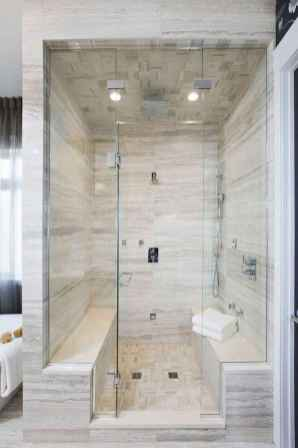 70 inspiring farmhouse bathroom shower decor ideas and remodel to inspire your bathroom (17)
