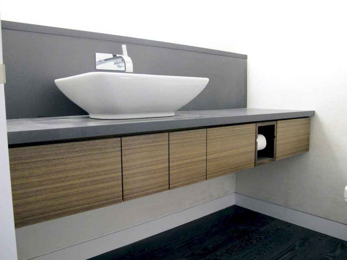 70 modern bathroom cabinets ideas decorations and remodel (11)