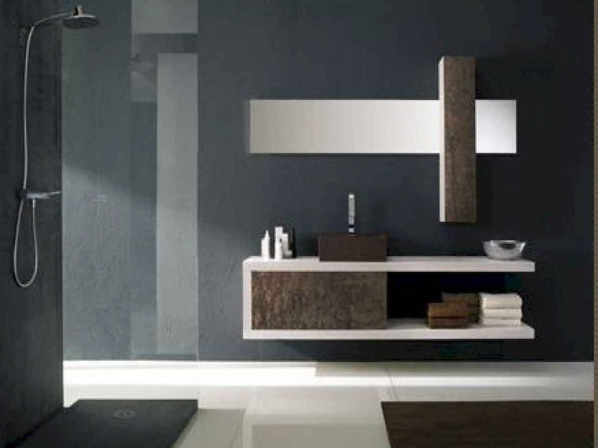 70 modern bathroom cabinets ideas decorations and remodel (20)