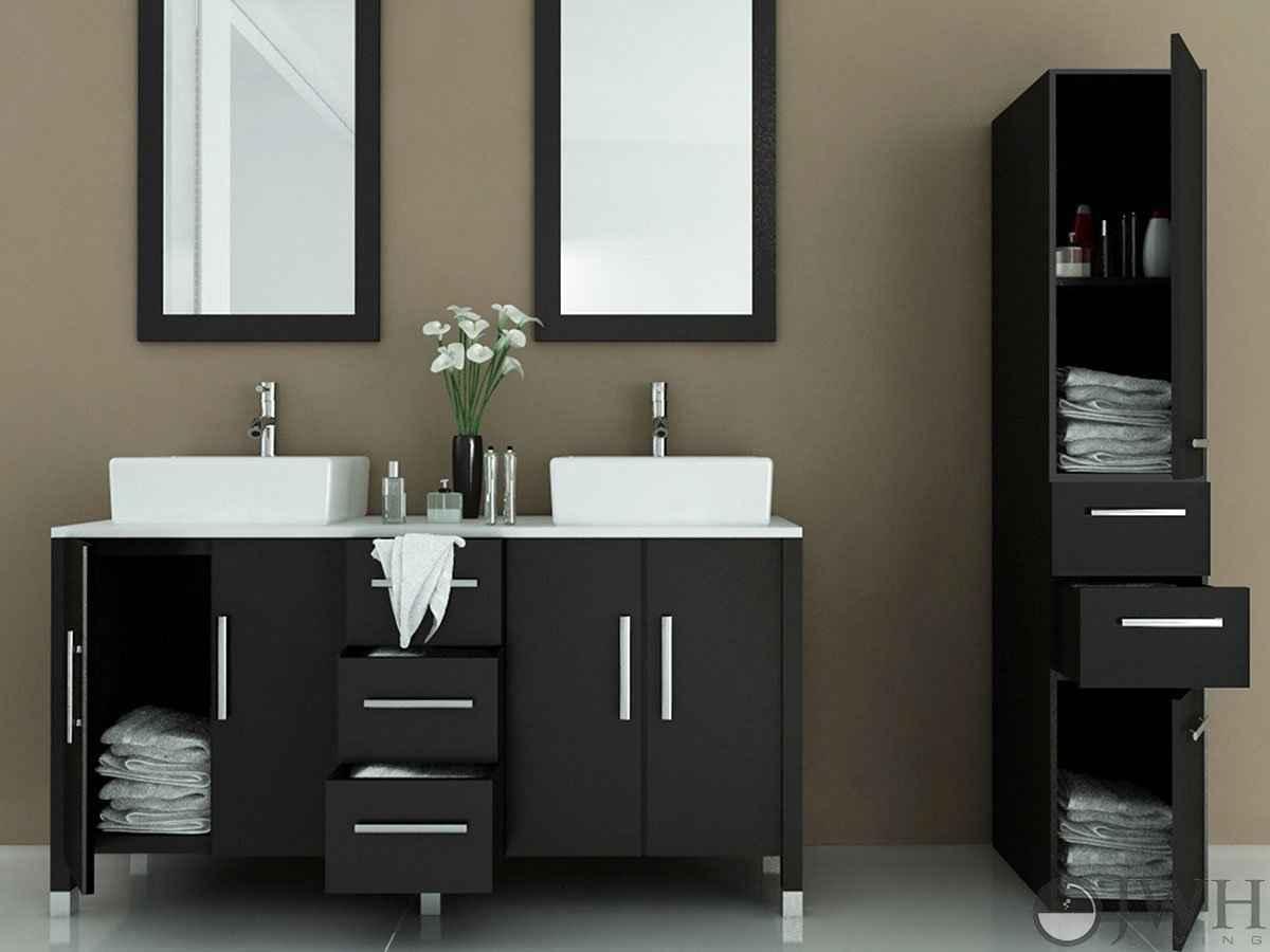 Sirius double sink vanity