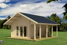 90 beautiful summer house design ideas and makeover make your summer awesome (17)