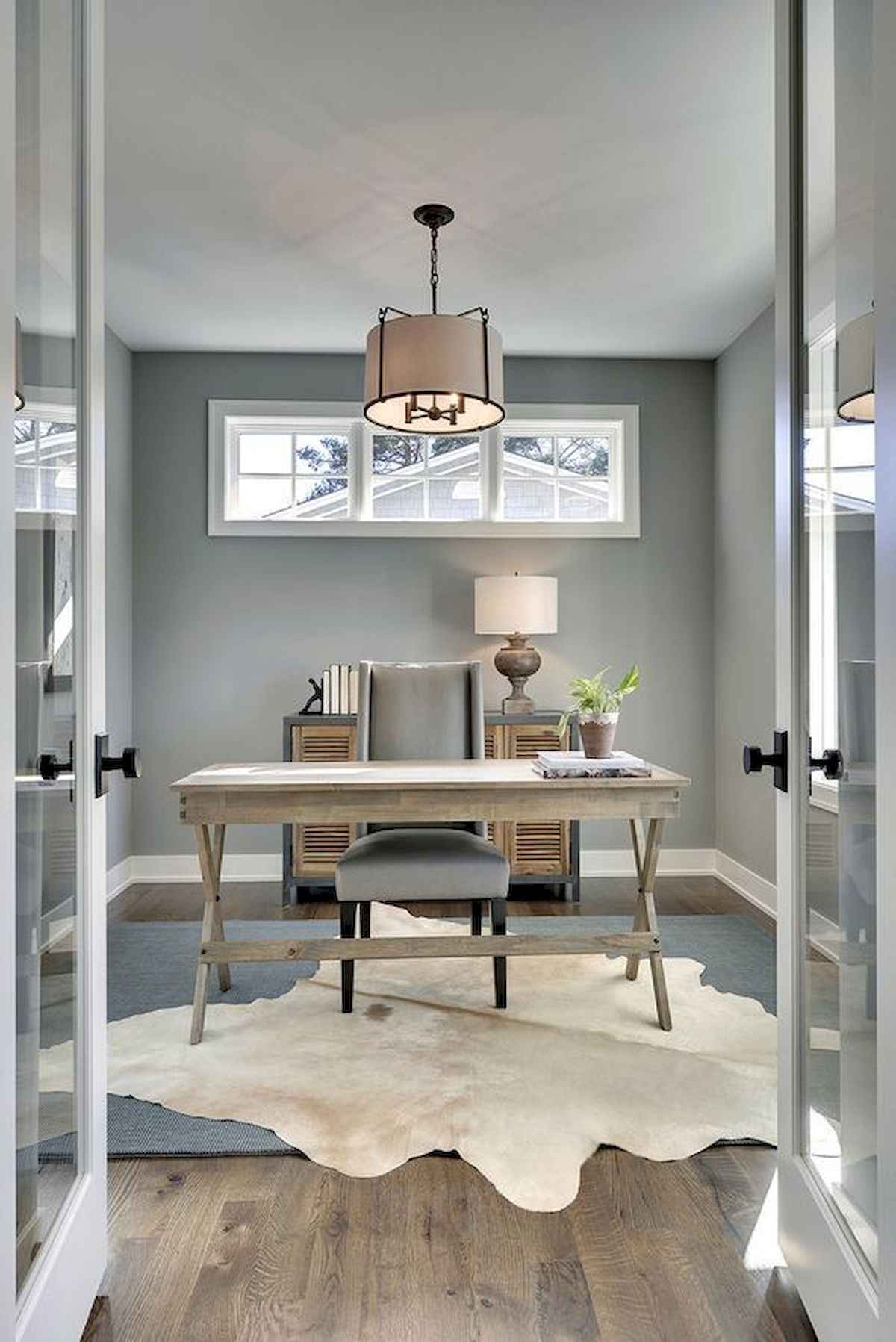 90 Stunning Home Office Design Ideas And Remodel Make Your Work Comfortable  (21)