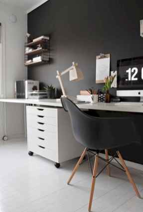 90 stunning home office design ideas and remodel make your work comfortable (28)