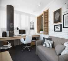 90 stunning home office design ideas and remodel make your work comfortable (40)