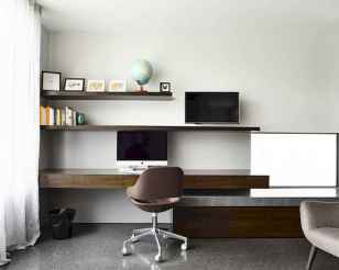 90 stunning home office design ideas and remodel make your work comfortable (47)