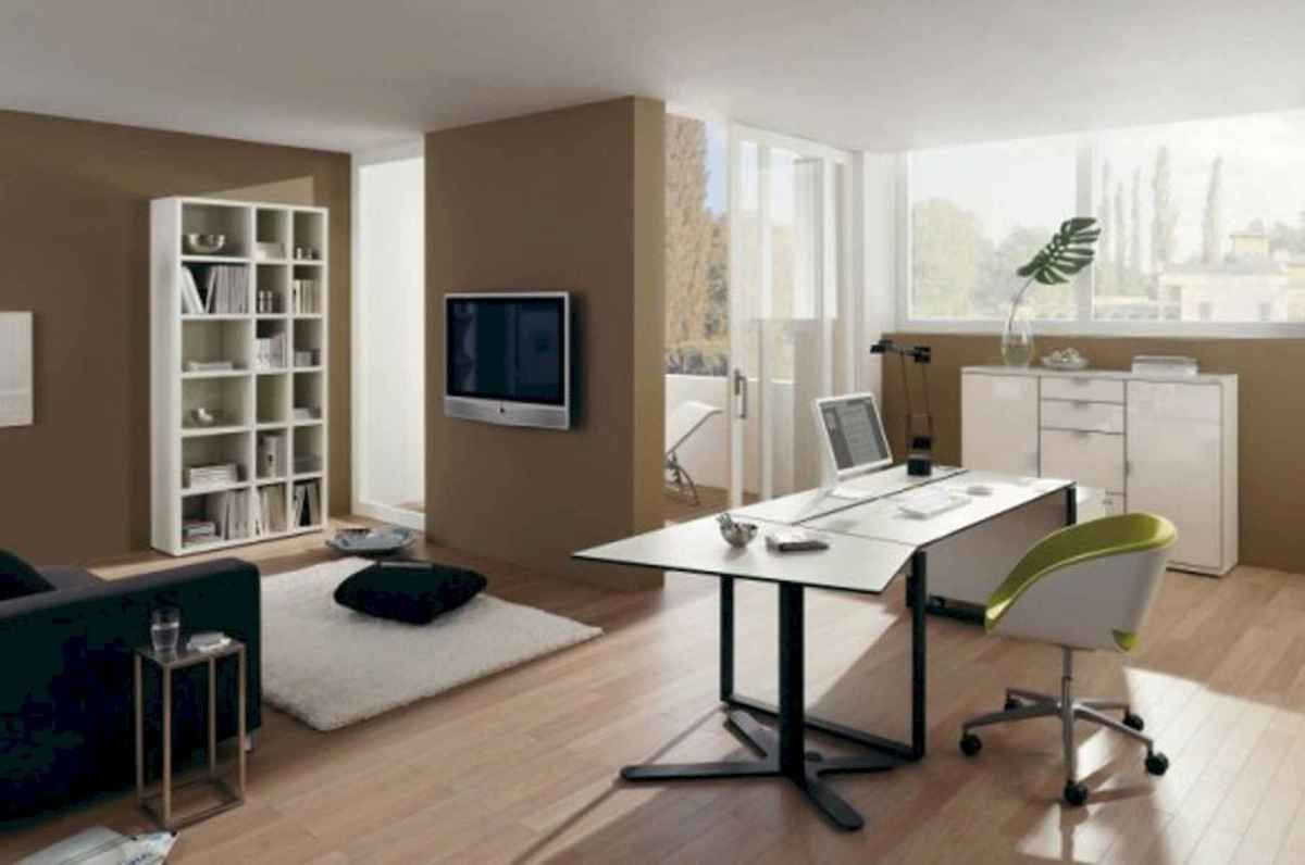 90 stunning home office design ideas and remodel make your work comfortable (63)