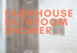 Farmhouse bathroom shower (1)