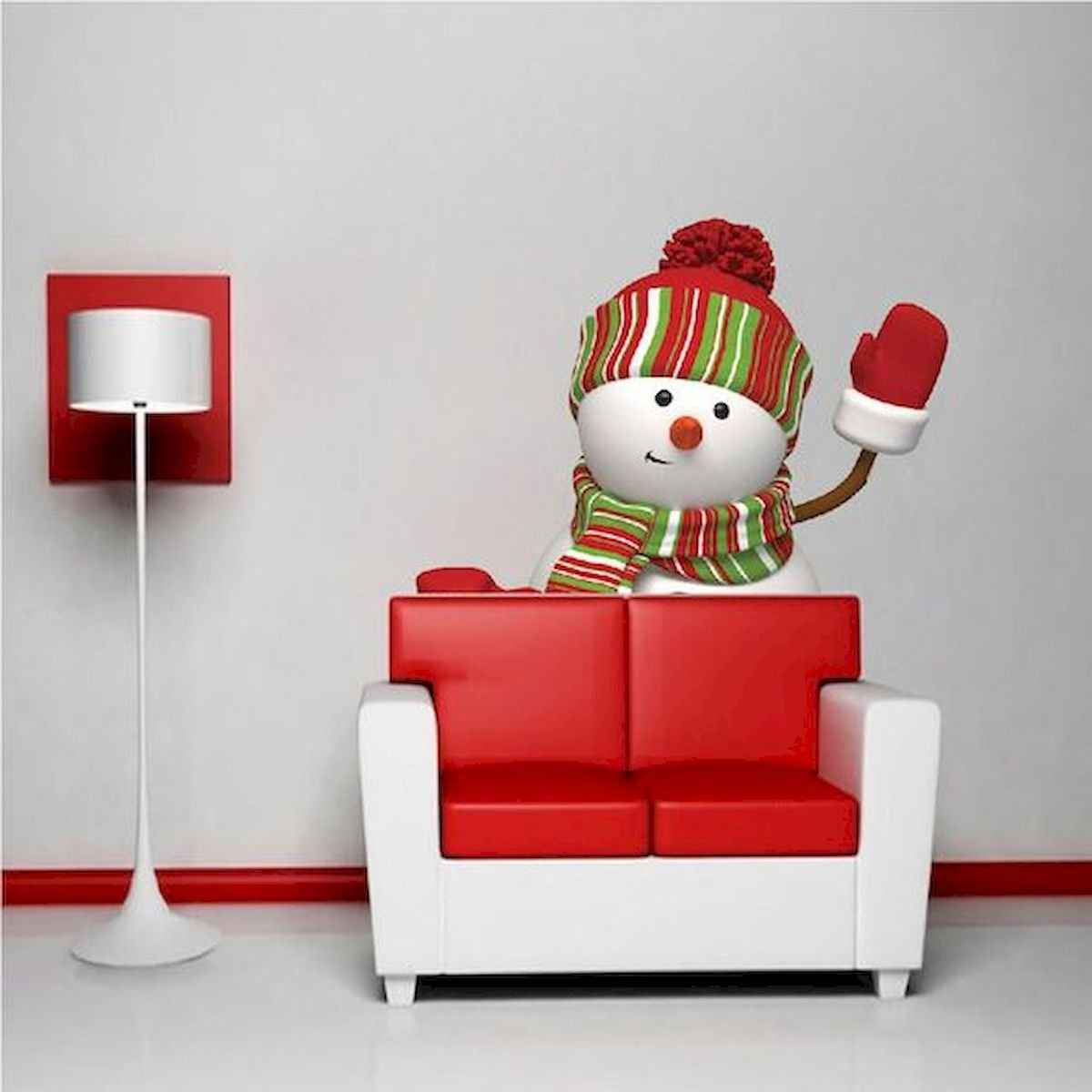 35 awesome apartment christmas decorations ideas (14)