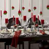 35 beautiful christmas decorations table centerpiece (10)