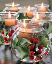 35 beautiful christmas decorations table centerpiece (29)