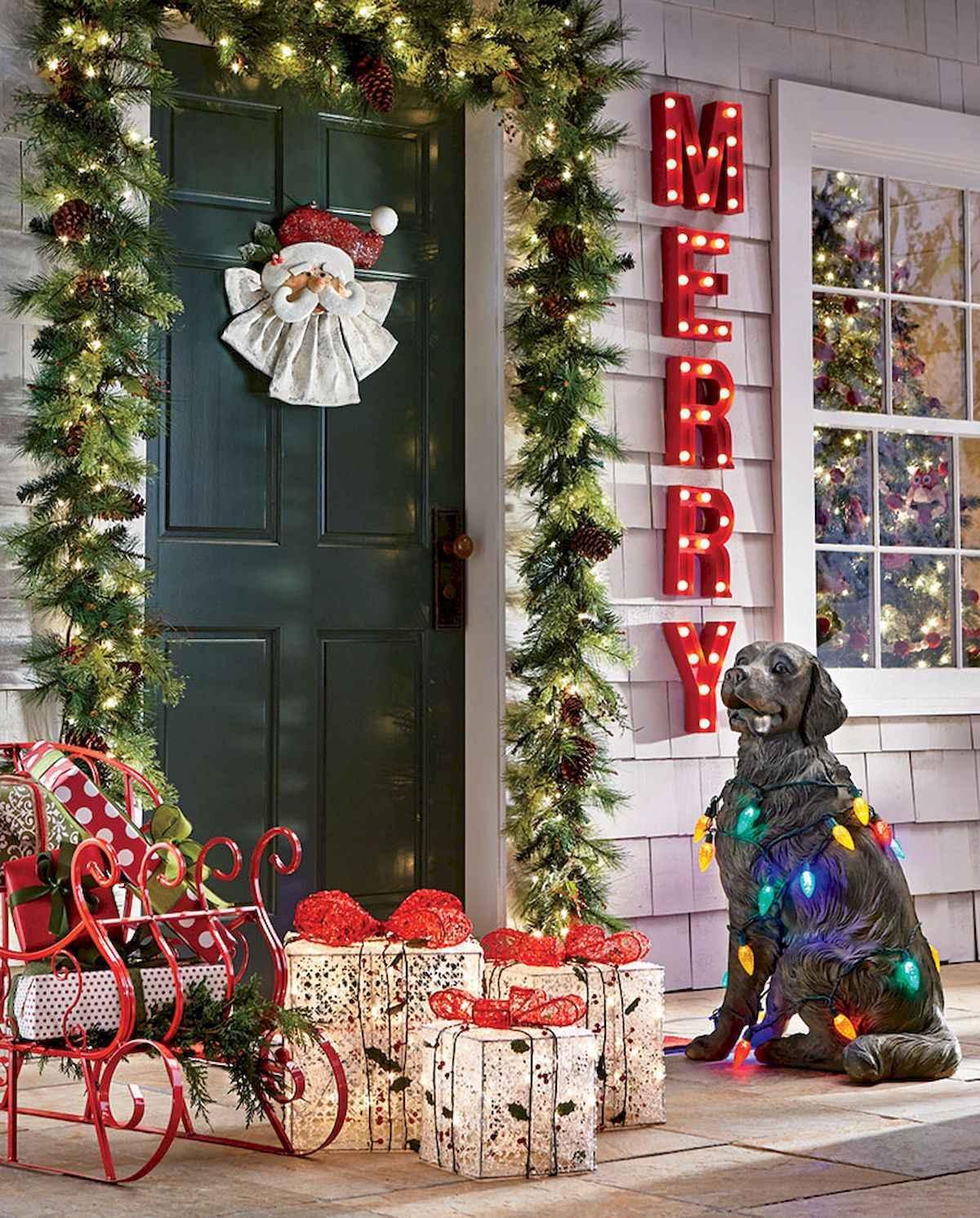 40 amazing outdoor christmas decorations ideas (23)