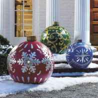 40 amazing outdoor christmas decorations ideas (26)