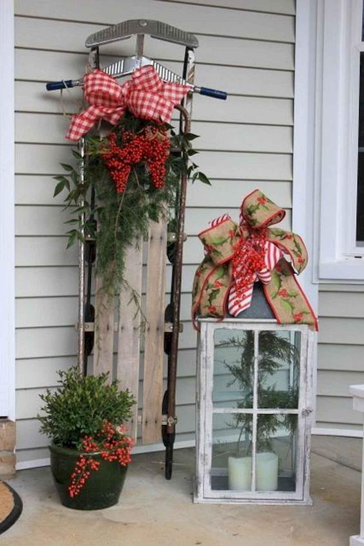 40 amazing outdoor christmas decorations ideas (3)