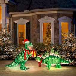 40 amazing outdoor christmas decorations ideas (37)