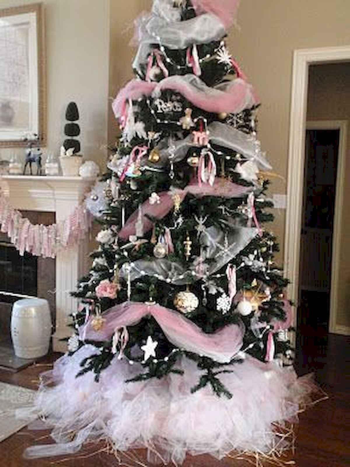 40 elegant christmas tree decorations ideas (20)
