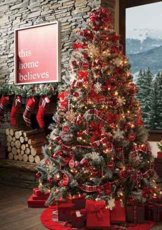 40 elegant christmas tree decorations ideas (25)