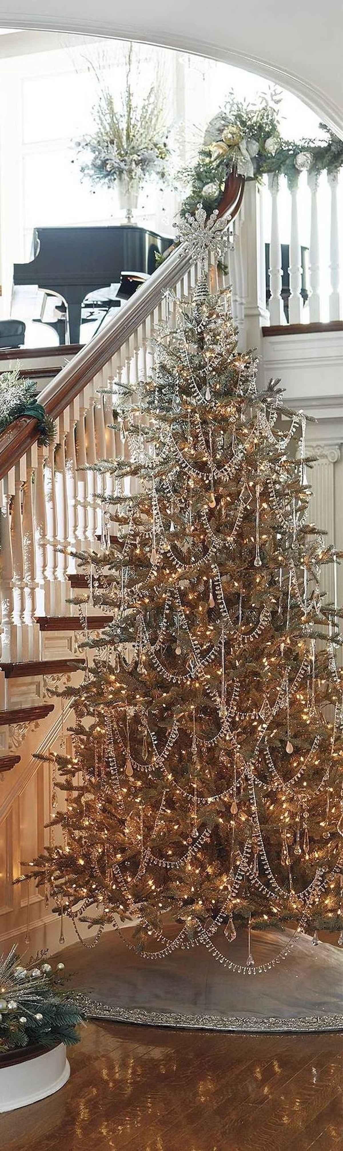 40 elegant christmas tree decorations ideas (36)