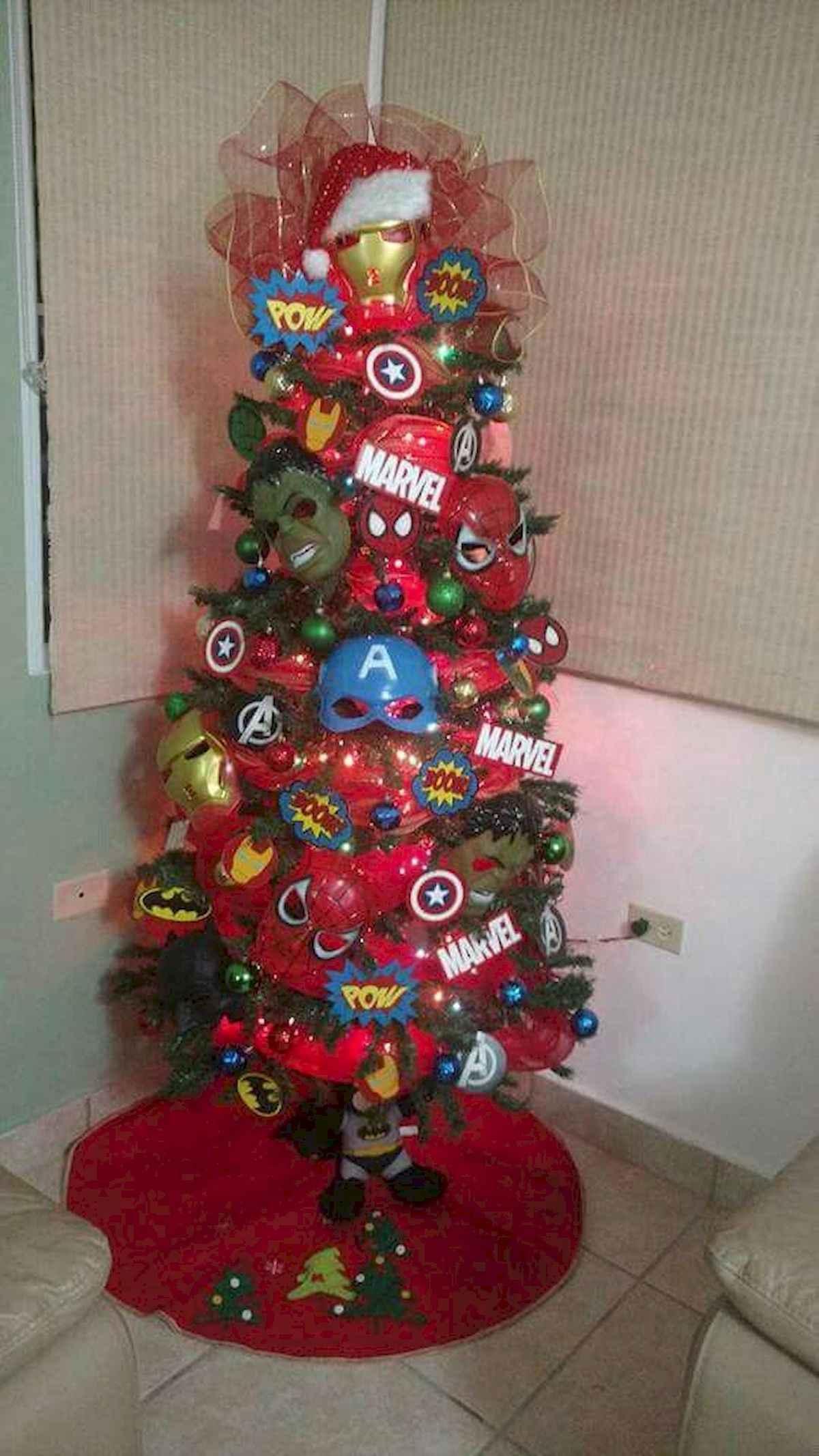 40 unique christmas tree ideas decorations (24)