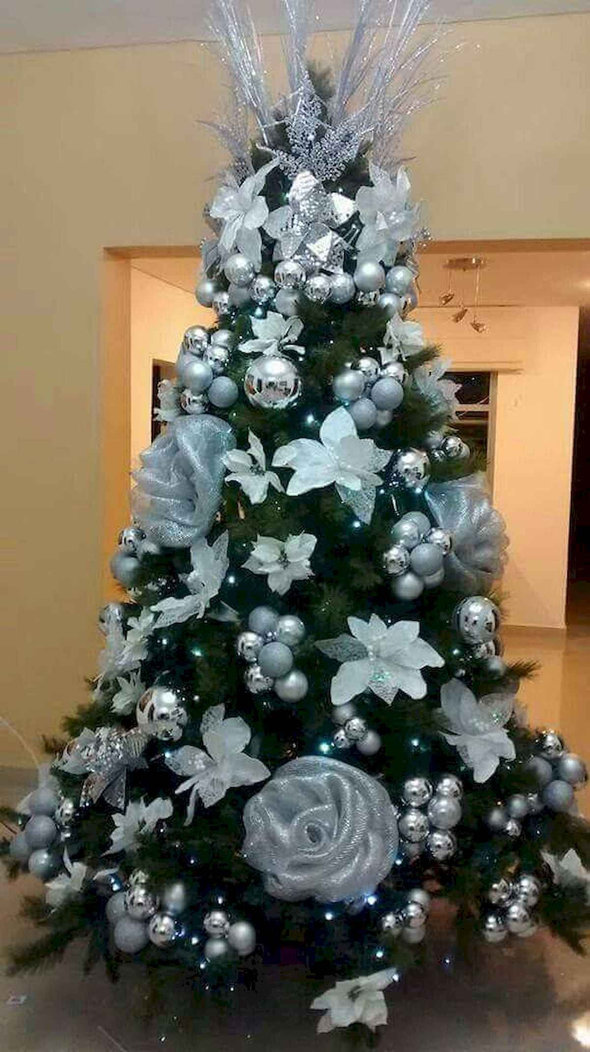 40 unique christmas tree ideas decorations (3)