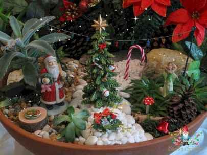 45 beautiful christmas fairy garden ideas decorations (12)