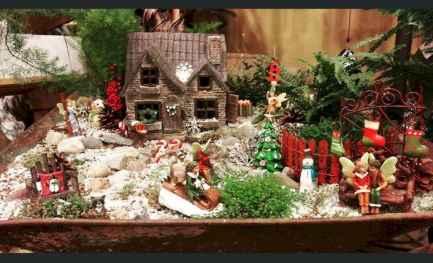 45 beautiful christmas fairy garden ideas decorations (18)