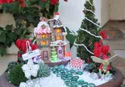 45 beautiful christmas fairy garden ideas decorations (28)