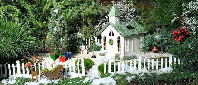 45 beautiful christmas fairy garden ideas decorations (38)