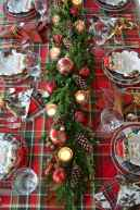 50 stunning christmas table dining rooms ideas decorations (1)