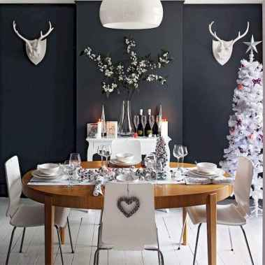 50 stunning christmas table dining rooms ideas decorations (12)