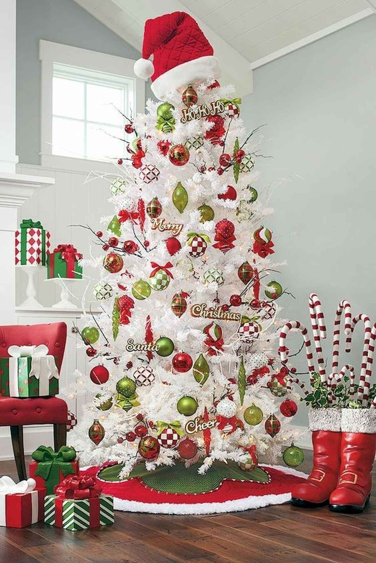 60 awesome christmas tree decorations ideas (40)