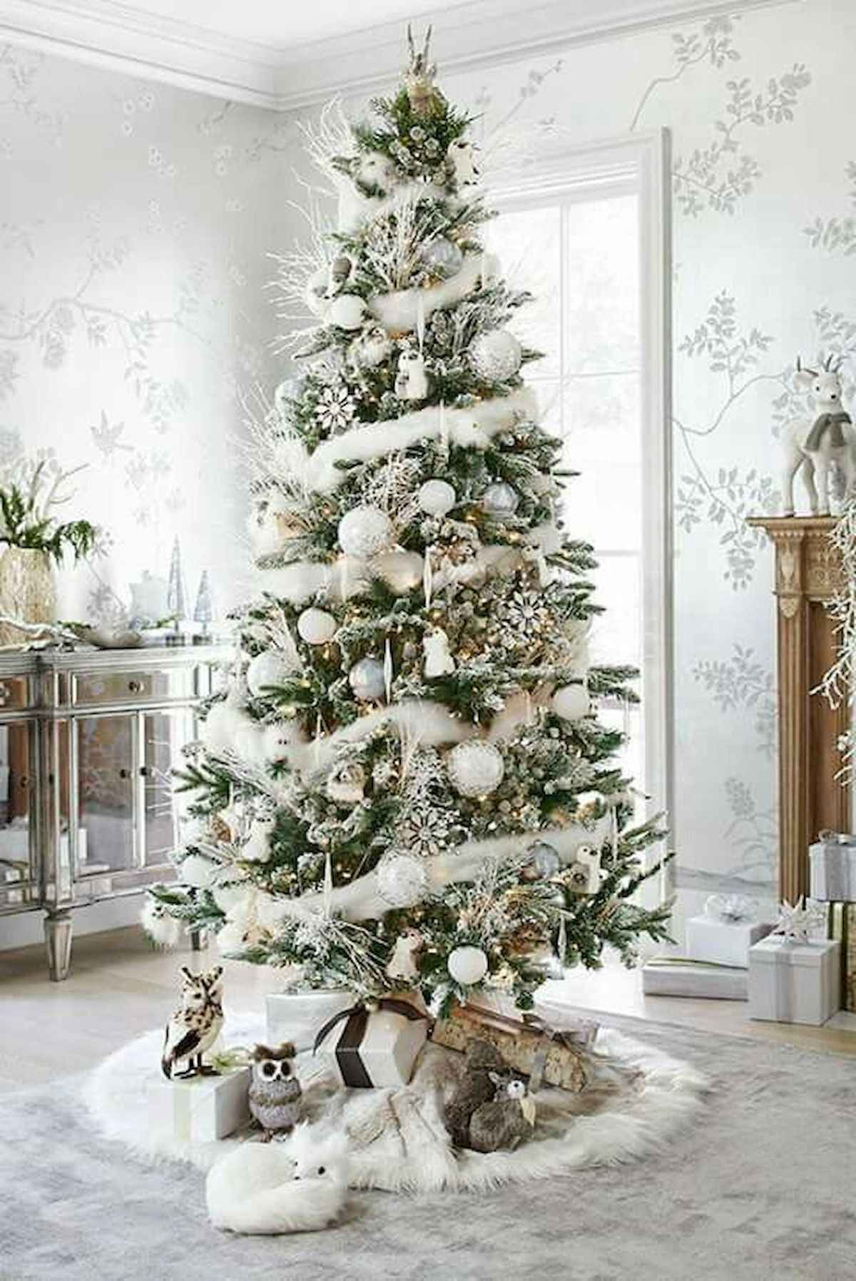 60 awesome christmas tree decorations ideas (8)