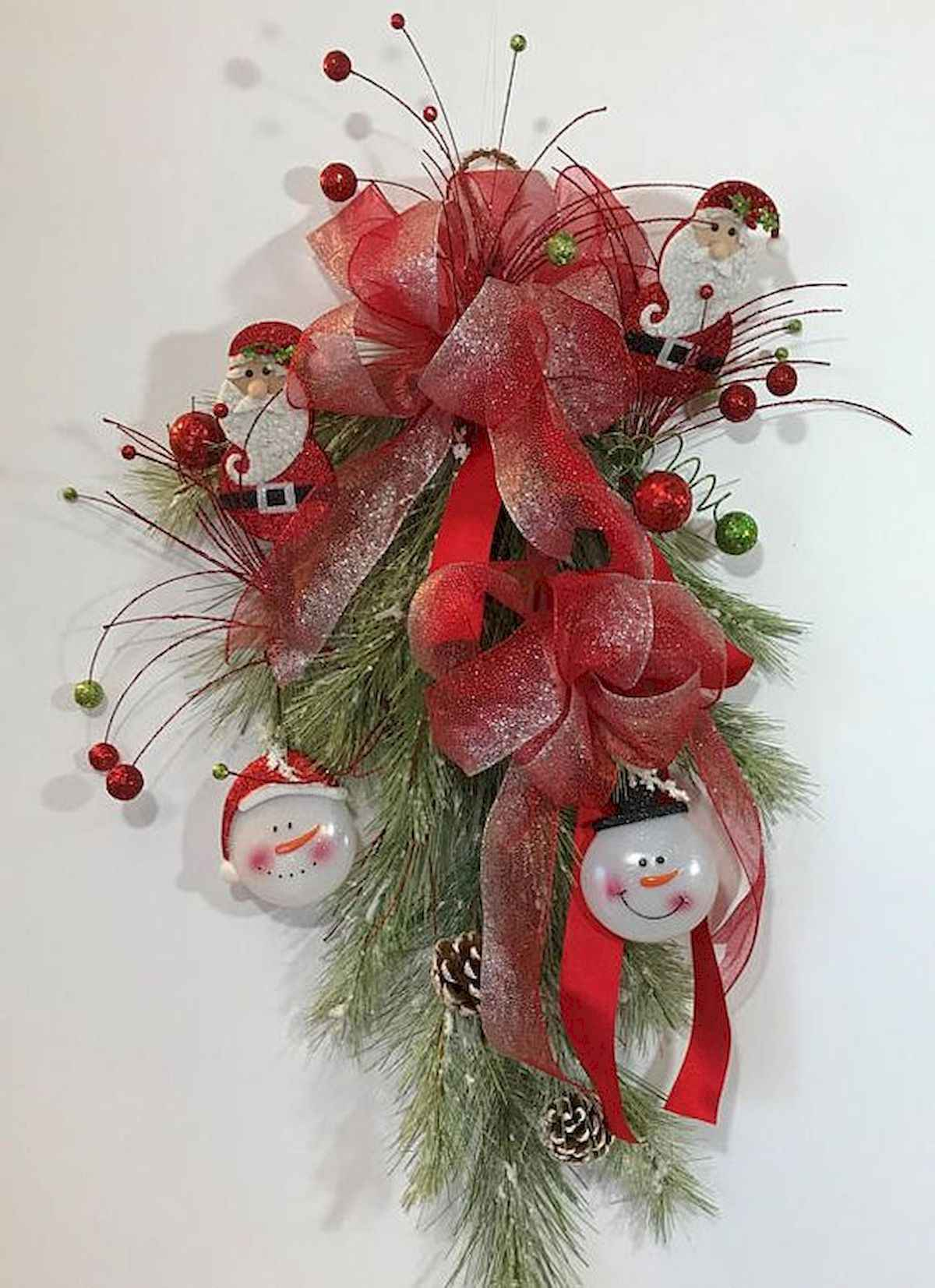 60 awesome wall art christmas ideas decorations (17)