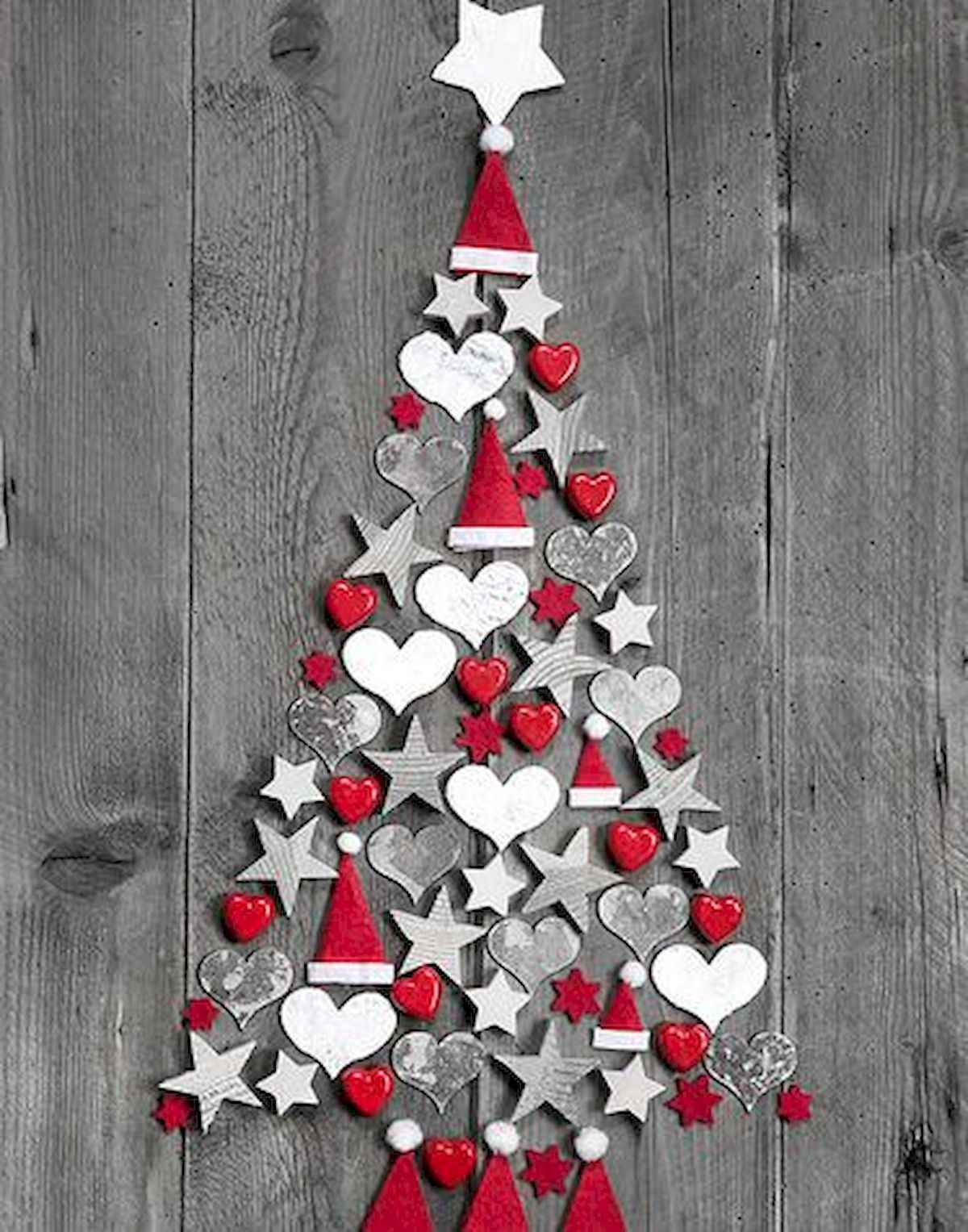 60 awesome wall art christmas ideas decorations (35)