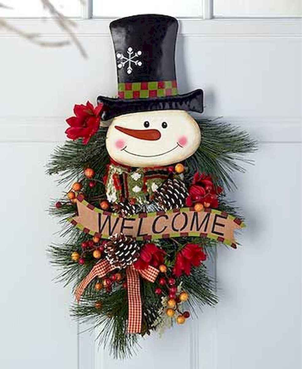 60 awesome wall art christmas ideas decorations (36)