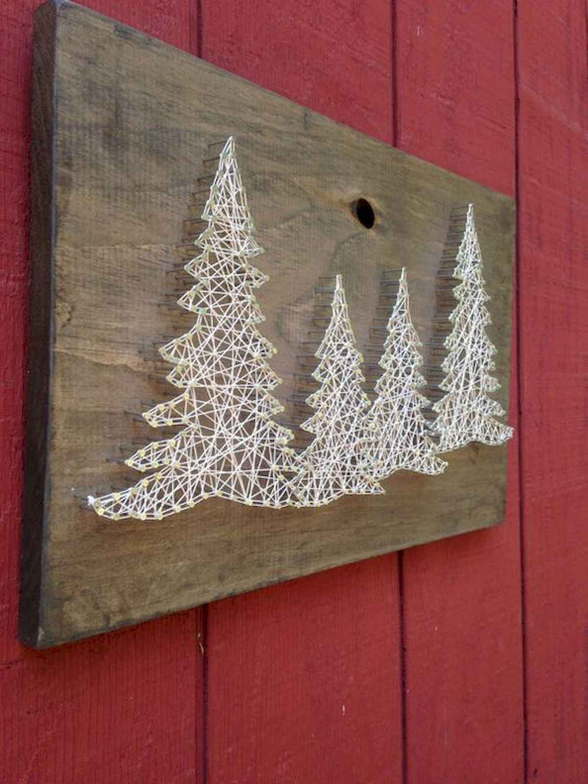 60 awesome wall art christmas ideas decorations (37)