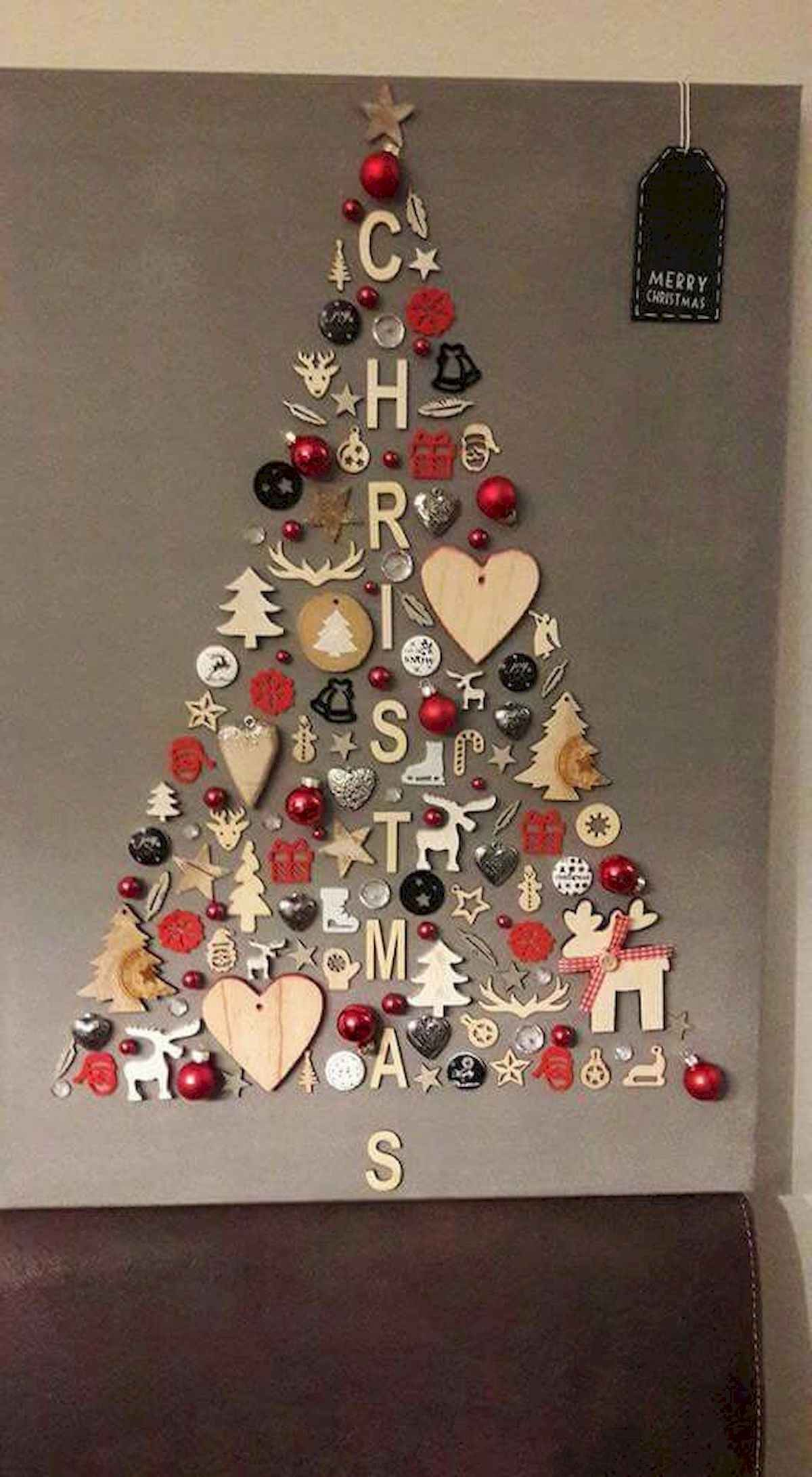 60 awesome wall art christmas ideas decorations (43)