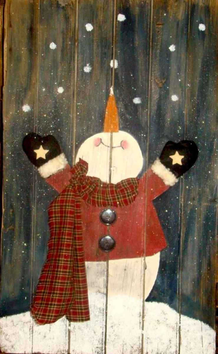 60 awesome wall art christmas ideas decorations (45)