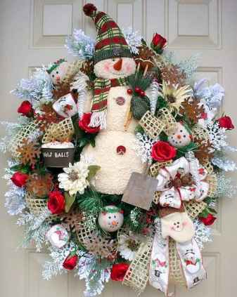60 awesome wall art christmas ideas decorations (51)