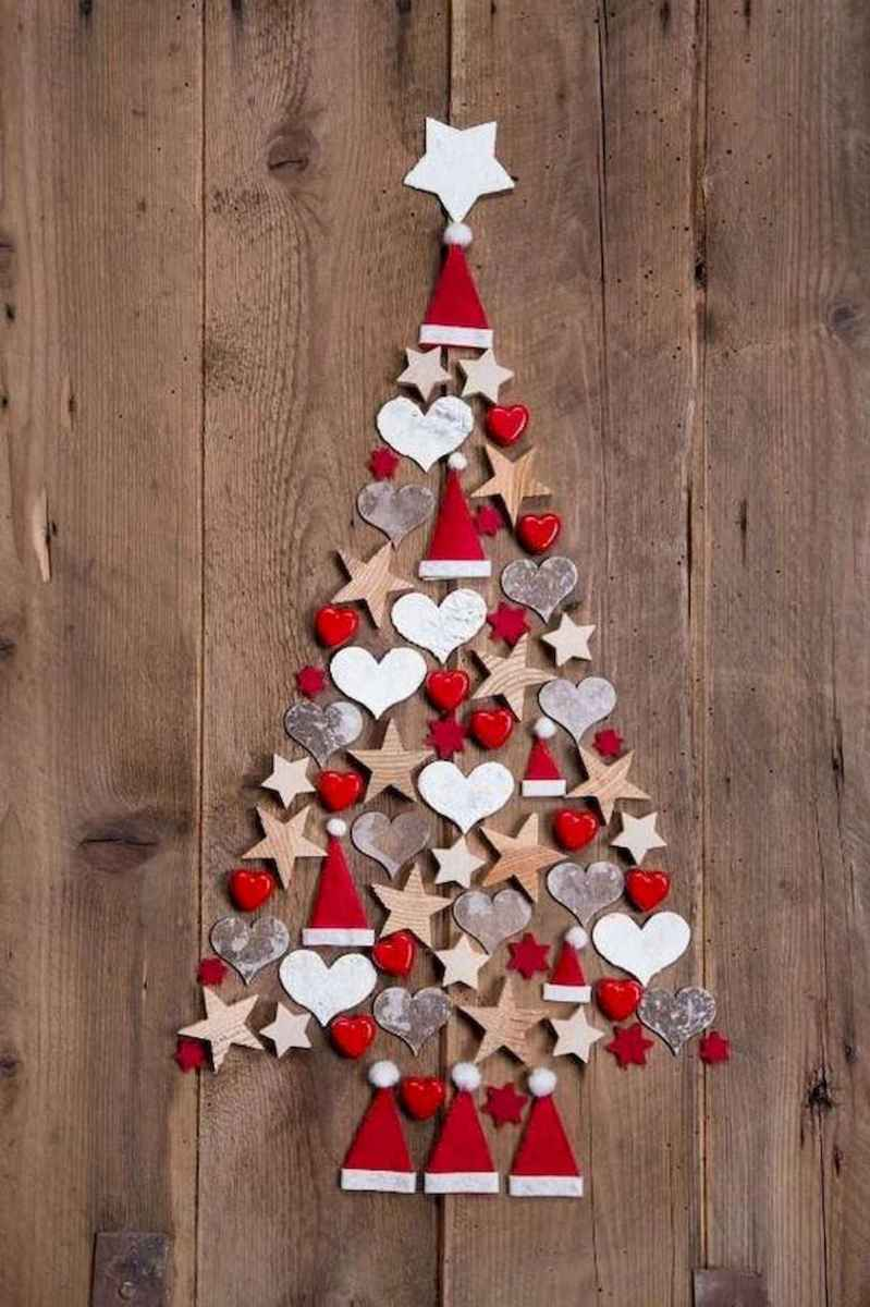60 awesome wall art christmas ideas decorations (56)