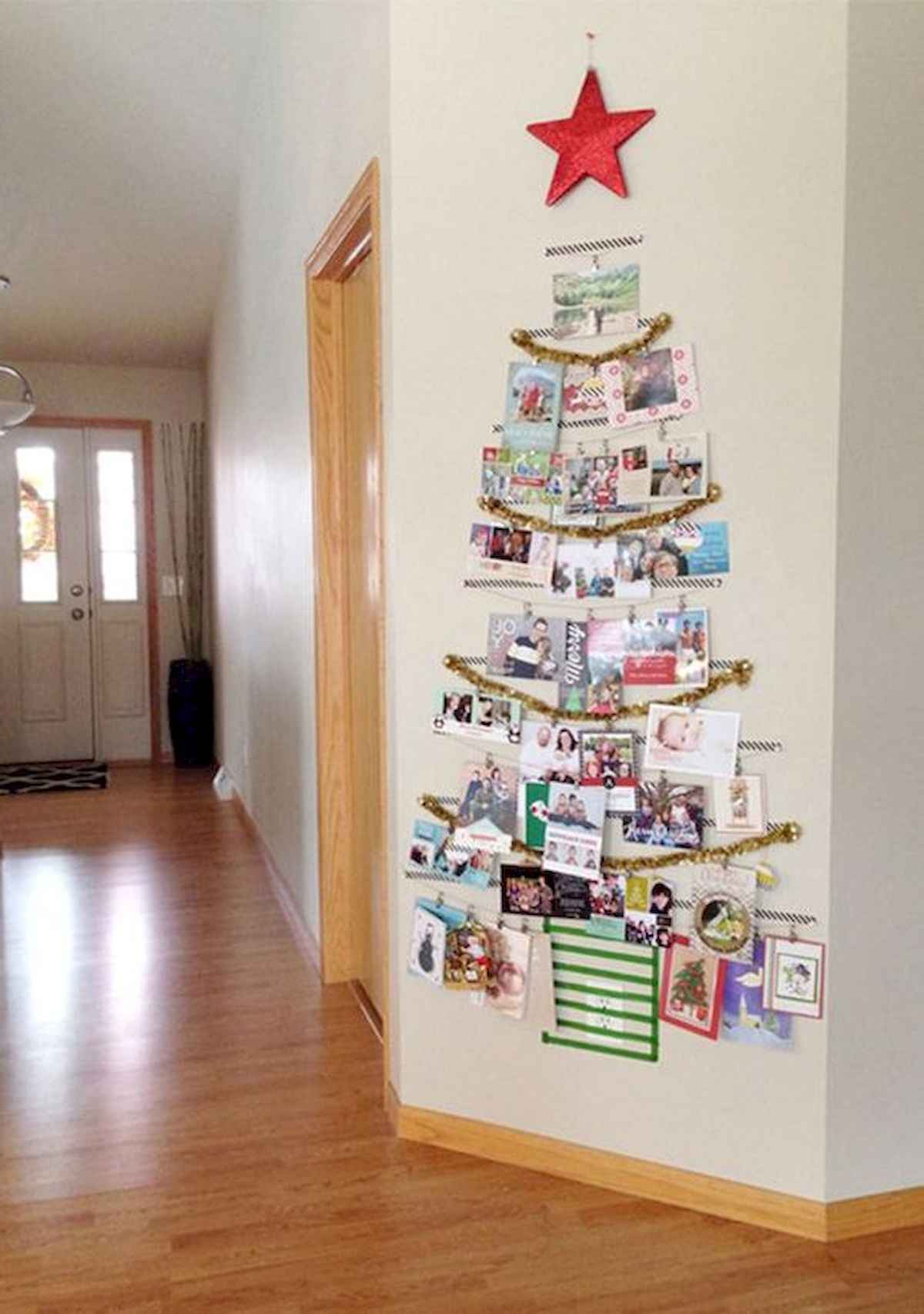 60 awesome wall art christmas ideas decorations (9)