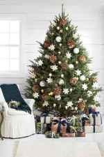 60 simple living room christmas decorations ideas (56)