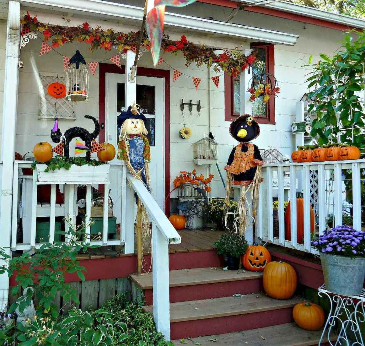 75 awesome helloween home decor ideas (34)