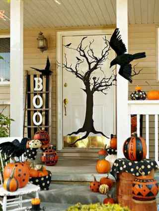 75 awesome helloween home decor ideas (9)