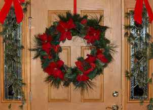 40 cheap and easy christmas decorations for your apartment ideas (66)