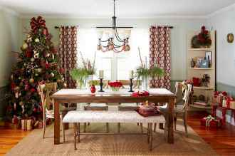 40 cheap and easy christmas decorations for your apartment ideas (67)