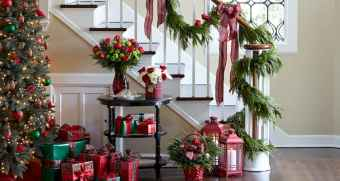 40 cheap and easy christmas decorations for your apartment ideas (75)